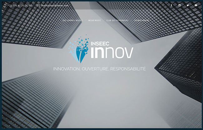 innov inseec webdesign webdeveloment